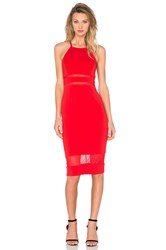 Jay Godfrey Mcguinn Dress Red