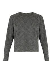 Outdoor Voices X A.P.C Sweat Jersey Performance Sweatshirt Grey