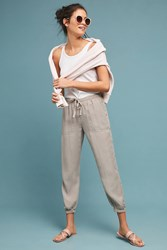 Cloth And Stone Buttoned Joggers Neutral