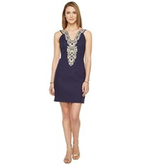 Lilly Pulitzer Suzette Shift True Navy Women's Dress