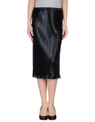 Motel Rocks 3 4 Length Skirts Black