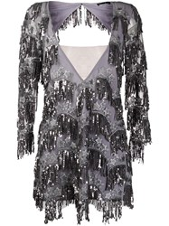 For Love And Lemons Sequin Fringe Mini Dress 60