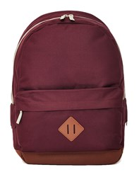 The Idle Man Heritage Backpack Burgundy