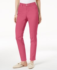 Charter Club Bristol Skinny Ankle Jeans Created For Macy's Glamour Pink