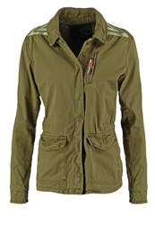 Maison Scotch Summer Jacket Army Oliv