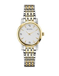 Bulova Ladies Two Tone Bracelet Watch