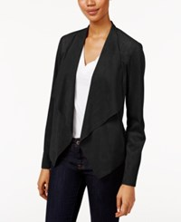 Kut From The Kloth Draped Open Front Blazer Black