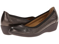 Softspots Stephanie Ii Smog Velvet Sheep Nappa Women's Wedge Shoes Brown
