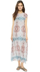 Myne Topanga Maxi Dress With Key Hole Temple