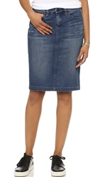 Blank Denim Pencil Skirt Medium