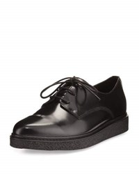 Opening Ceremony Wynn Shiny Leather Creeper Black