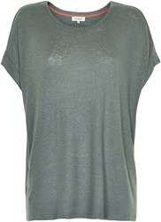 Soaked In Luxury Oversized T Shirt Grey