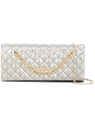 Love Moschino Quilted Shoulder Bag Metallic