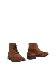 New Jersey Ankle Boots Camel