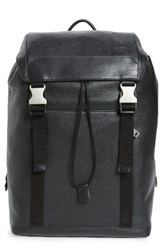 Jack Spade Men's Army Leather Backpack