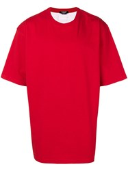 Calvin Klein 205W39nyc Oversized T Shirt Red