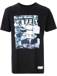 Hl Heddie Lovu Collage Print T Shirt Black