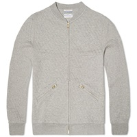 Gant Rugger Quilted Baseball Sweat Grey