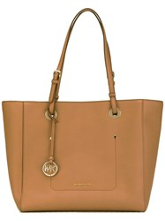 Michael Kors Walsh Tote Women Leather One Size Brown