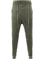 11 By Boris Bidjan Saberi Drawstring Pants Men Cotton M Green