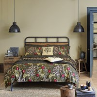 Morris And Co Seaweed Duvet Cover Green