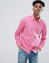 Jack Wills Atley Oxford Shirt In Bright Pink