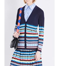 Mary Katrantzou Deino Knitted Cardigan Multi