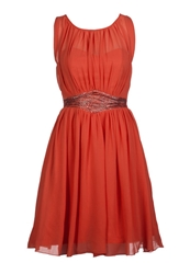Little Mistress Cocktail Dress Party Dress Orange