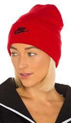 Nike Nsw Cuffed Utility Beanie In Red. University Red