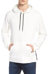 Threads For Thought Barkeley Side Zip Hoodie Sweatshirt Cloud White