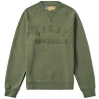 Barbour Steve Mcqueen Merchant Crew Sweat Green