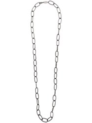 Federica Tosi Oversized Chain Necklace Silver