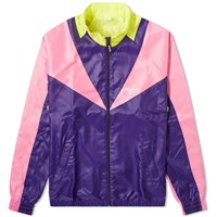 Reebok Retro Twin Vector Track Jacket Purple
