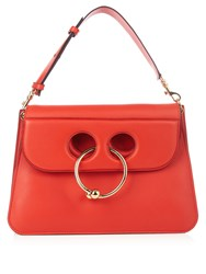 J.W.Anderson Pierce Medium Leather Cross Body Bag Red