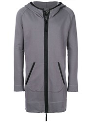 Unconditional Zipped Space Hoodie Grey