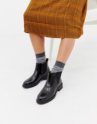 Head Over Heels Portiaa Chunky Chelsea Boots Black