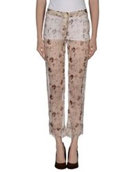 Collection Privee Collection Privee Casual Pants Beige