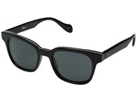 Paul Smith Denning Size 51 Deluxe Onyx Stripe Grey Fashion Sunglasses Gray