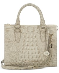 Brahmin Melbourne Anywhere Convertible Satchel A Macy's Exclusive Style Melbourne Limestone