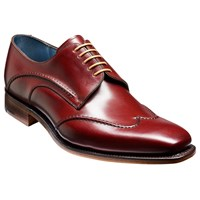 Barker Brook Derby Shoes Cherry