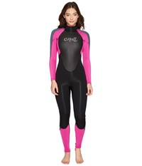 O'neill Epic 3 2Mm Wetsuit Black Berry Graphite Women's Wetsuits One Piece