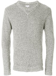 Gant Rugger The Boucle Jumper Grey