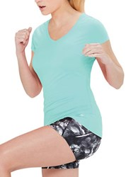 Mpg Essential Active Tee Cool Teal