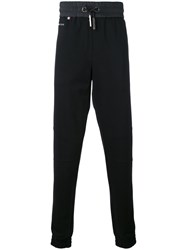 Philipp Plein Drawstring Sweatpants Men Cotton Polyamide Spandex Elastane Viscose 50 Black