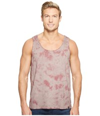 Threads For Thought Cloud Wash Tie Dye Tank Top Twilight Mauve Men's Sleeveless