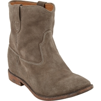 Isabel Marant Crisi Ankle Boots Taupe