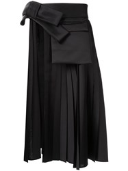 Dice Kayek Cut Out Side Pleated Skirt 60