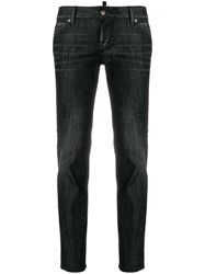 Dsquared2 Jennifer Cropped Jeans Black
