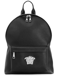 Versace Medusa Palazzo Backpack Men Leather One Size Black