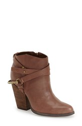 Women's Very Volatile Ankle Bootie Brown Leather